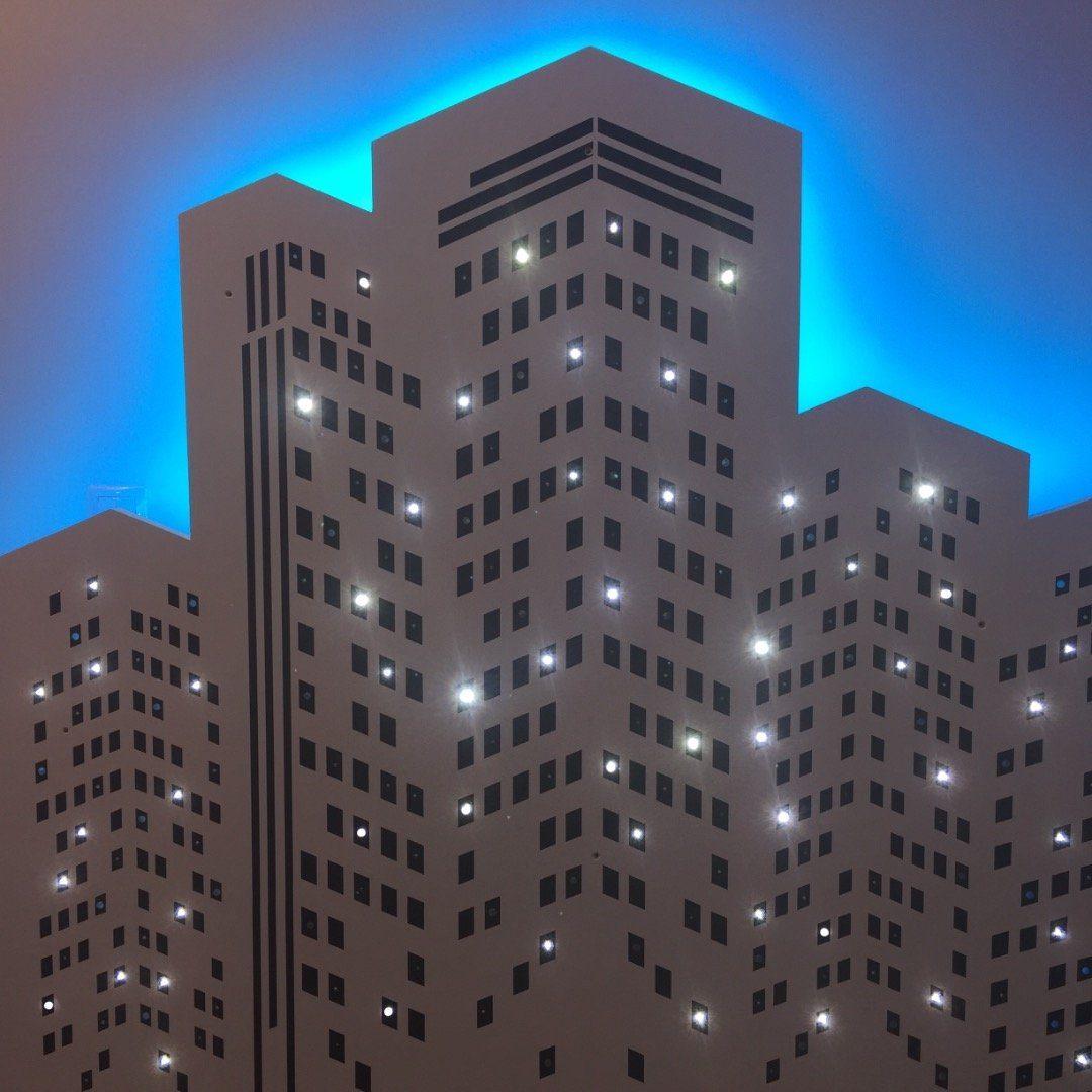 LED csillagos ég